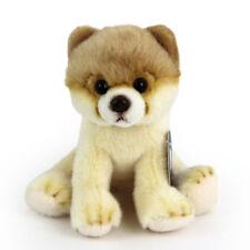 Stofftier kleiner Pomeranian, Hund, Plüschtier (H. ca. 13 cm) Zwergspitz