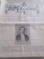 Vintage Mahatma Ellis Stanyon Issue 1900 Vol. Iii No. 1