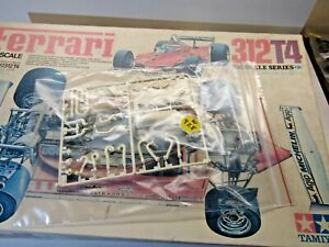 Tamiya 1:12 Scale Ferrari 312T4 Sprue D White Parts only as Pictured Incomplete