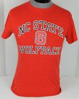 NORTH CAROLINA STATE UNIVERSITY NC STATE WOLFPACK NCAA MENS T-SHIRT SIZE SMALL S