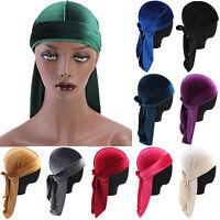 Damen Bandana Mütze Turban Stretch Fit Kappe Kopfbedeckung Chemomütze Kopftuch