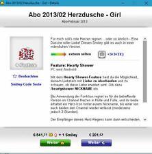 Knuddels.de - Smiley: Abo 2013/02 Herzdusche - Girl