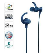 Sony MDR-XB510AS - Splash proof - In-Ear Headphones - Extra Bass -Grade A -Blue