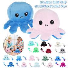 Octopus Plüschtier Kuscheltier Stimmung Mood Kinderspielzeug Doppelseitiges Neu