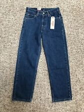 Levis Mens Jeans 550 Relaxed 29x30 Medium Wash New