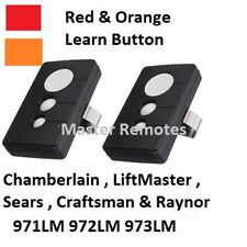 2 Garage Remote Opener Fit Sears Craftsman LiftMaster 971LM 973LM 139.53681B