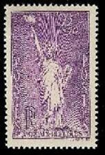 Statue Liberté 1936 - trace légère