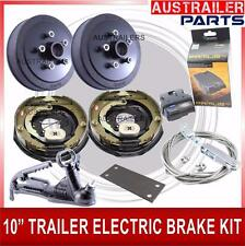 "10""ELECTRIC BRAKE KIT FOR TRAILER INCLUDING IQ CONTROLER AND 3.5TONNECOUPLING"
