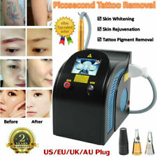 Picosecond YAG LASER Tattoo Eyebrow Callus Removal System Skin Whiten Machine CE