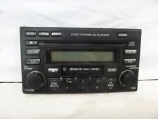 04-09 Kia Sportage Radio 6 Cd Tape Face Plate 96170-1F100 APS15