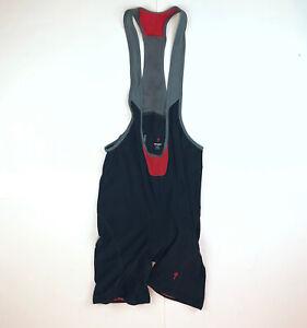 Specialized est 1974 Nylon Polyester Lycra Bib Shorts Black X-Large XL E4.