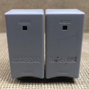 Lot of 2 Genuine Nintendo Gamecube Wavebird Wireless Receivers Only DOL-005