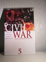 CIVIL WAR# 5(2006)PT 5 OF MIKE MILLAR AND STEVE MCNIVEN SEMINAL SERIES CIVIL WAR