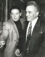 JOHN GOTTI & SAM GRAVANO 8X10 PHOTO MAFIA ORGANIZED CRIME MOBSTER MOB PICTURE