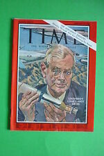 TIME rivista magazine FEBRUARY 11 1966 LOCKHEED'S COURTLANDT GROSS