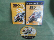 PS2 PLAY STATION 2  SUPERBIKE WORLD CHAMPIONSHIP 07