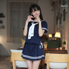 Japan Jk School Uniform Women Sailor Uniform Sailor Dress Suit Cosplay Costume