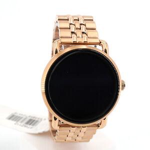 Fossil FTW2112 Damenuhr Smartwatch Wander Touchscreen Rosé B-Ware