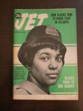 Jet Magazine April 1970 Jeanette Thompson Railroad Clerk New York Subway