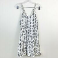 Beach By Exist Printed Strappy Flowy Mini Dress Womens Size Medium