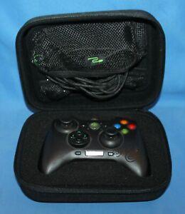 Razer Sabertooth Xbox 360/PC Wired Black Controller With Case