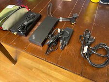 New listing Lenovo 40An0230Us Thunderbolt 3 230W Workstation Dock for ThinkPad - Black