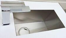 OVER STOCK Sale-Zero Radius Rust Free Kitchen Bar Sink-1118A+