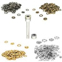 20mm Snap Poppers Press Studs Fasteners 2pcs Fixing Tool Kit Craft Clothing Bags