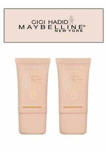 Maybelline Gigi Hadid Liquid Strobe illuminateur liquid iridescent GG21 Gold X 2