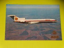CARTE POSTALE AVION - BOEING 727/256 - PUBLICITE IBERIA