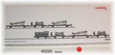 "MÄRKLIN 45090 Güterwagen-Set ""Flugzeug-Transport"" der DRG 7-teilig#NEU in OVP#"