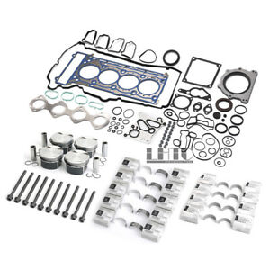 Engine Overhaul Rebuild Kit for Mercedes-Benz W203 W204 W211 1.8 Supercharged