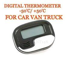 MINI DIGITAL CAR LCD DISPLAY THERMOMETER METER TEMPERATURE INTERIOR METRE NEW.