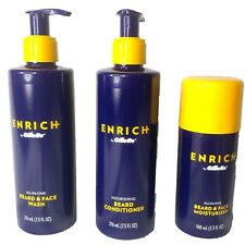 Enrich By Gillette All In One Beard Care Kit Face Wash,Conditioner & Moisturizer
