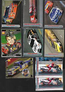 (55)SI Kids NASCAR Driver Cards RC's-Earnhardt/Tony Stewart/Jimmie Johnson/Busch