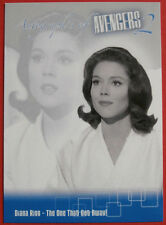 THE AVENGERS - Card #98 - Diana Rigg - SERIES TWO - Strictly Ink 2005