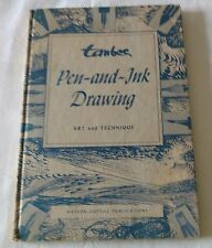 TAUBES Pen-and-Ink drawing: Art and Technique 1ST Edition (1956)HARDCOVER –HB139