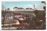 AK Freising --Blick auf die Jägerkaserne-- um 1910