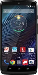 Motorola Droid Turbo XT1254 - 32GB Black (Verizon/Unlocked) *POOR USB CHARGING