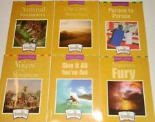 Grade 5 Houghton Mifflin 21 Stories Readers Library Set of 6 5th Reading