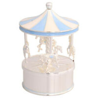 NEW Gibson Baby Baby Boy Musical Carousel