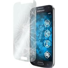2 x Samsung Galaxy S4 Mini Protection Film Tempered Glass clear