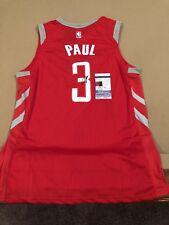 Chris Paul Signed Custom Houston Rockets Jersey w/ JSA COA NBA STAR
