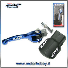LEVA FRENO ANODIZZATA  FORGIATA ZAP FLEX COLORE YAMAHA YZ - YZF BLUE 2008 -2013