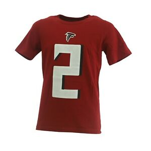 Atlanta Falcons Matt Ryan 2 Nike NFL Apparel Kids Youth Size T-Shirt New Tag