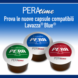100 Lavazza Blue® Compatible Coffee Capsules - 3 Pera Blends available