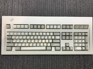 """IBM Keyboard """"Click"""" Vintage Refurbished Model 1391401 Model M for parts"""