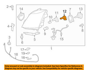 GM OEM-Headlight Headlamp Bulb 10351666