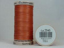 Gütermann Hand Quilting No. 2045 Thread Hand Quilting/Embroidery 200m | ORANGE