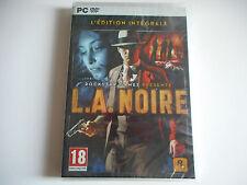 JEU PC DVD ROM NEUF - L.A. NOIRE - ROCKSTAR GAMES - L'EDITION INTEGRALE